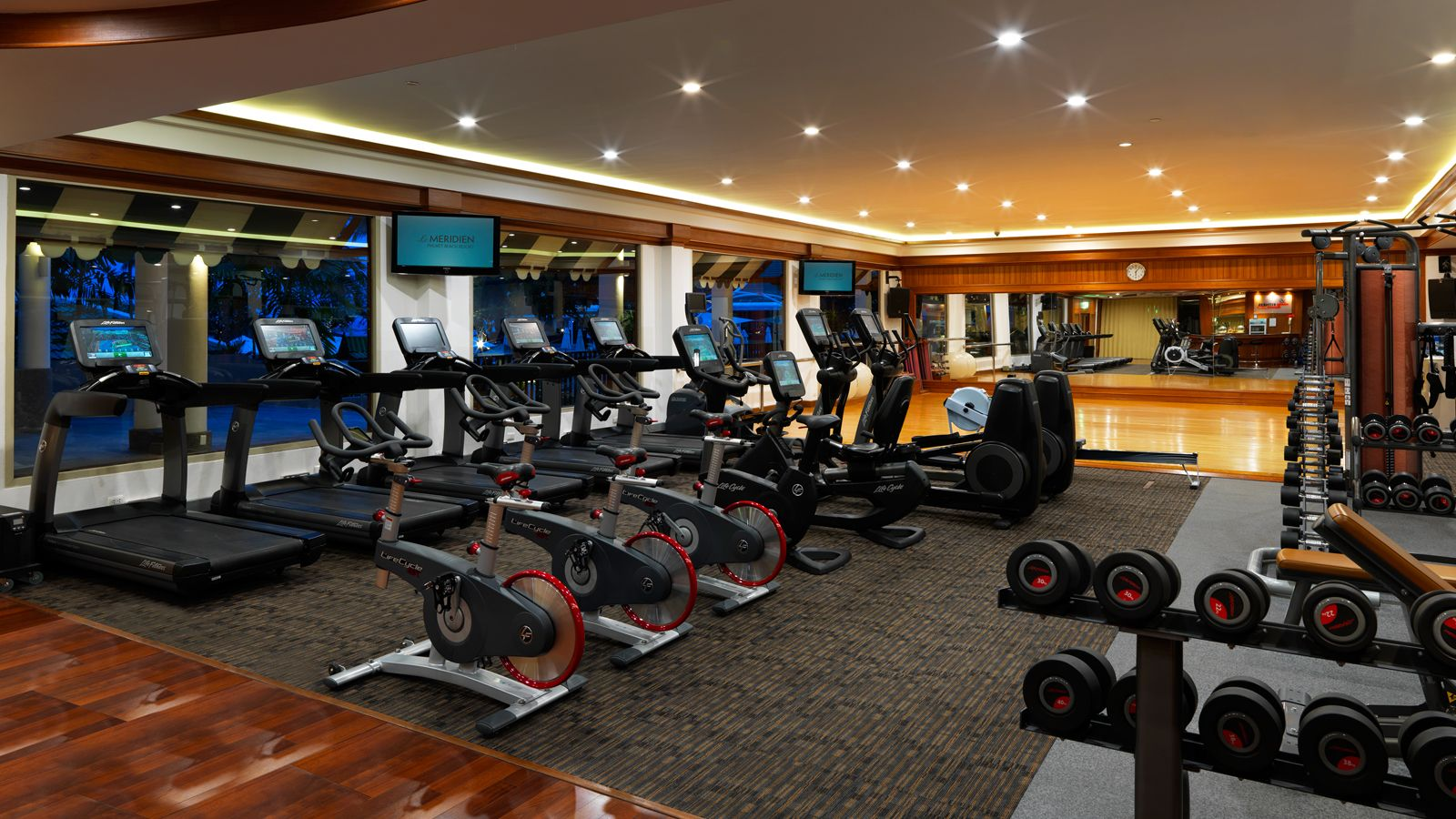 Fitness Centre with Modern Equipment