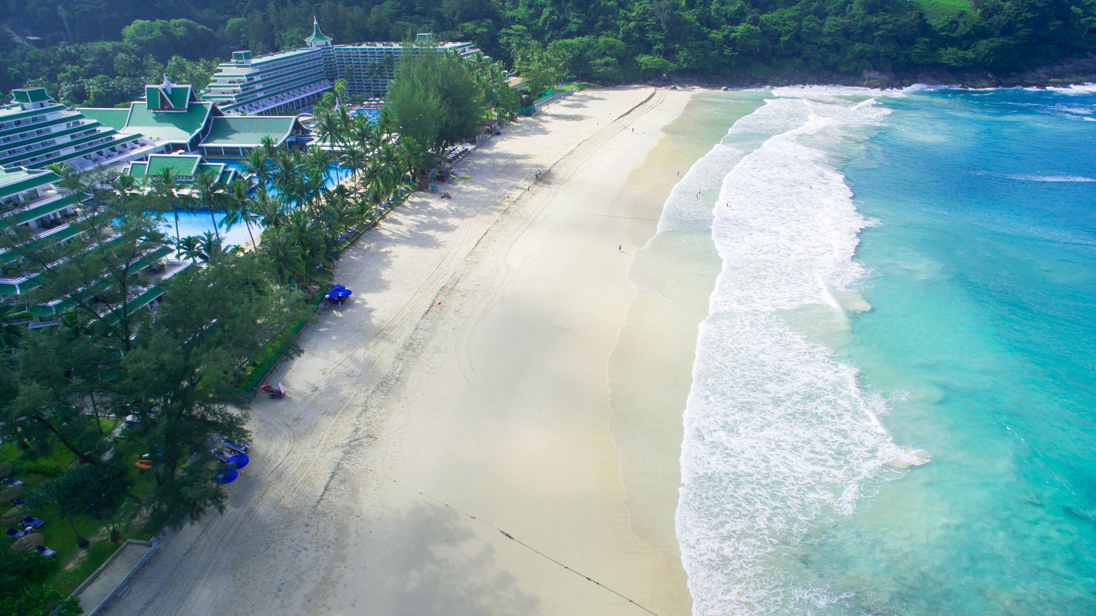 Secluded 500-metre pristine beach