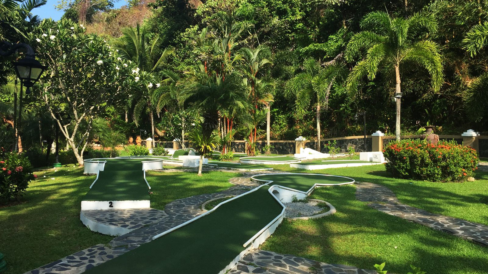 Family Fun - Nine-Hole Mini-Golf